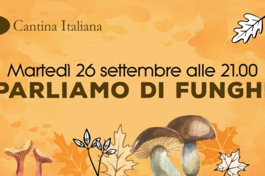 26 settembre – Parliamo di funghi
