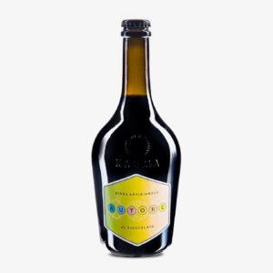 Birra artigianale arricchita con fave di cacao