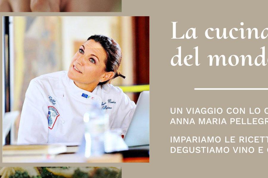 8 ottobre – La cucina del mondo: Spagna con Anna Maria Pellegrino