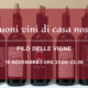 19 novembre – I buoni vini di casa nostra