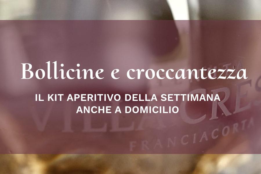 Kit aperitivo – Bollicine e croccantezza