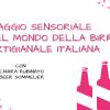 Corso degustazione birra Noventa Padovana Cantina Italiana settembre - ottobre 2021
