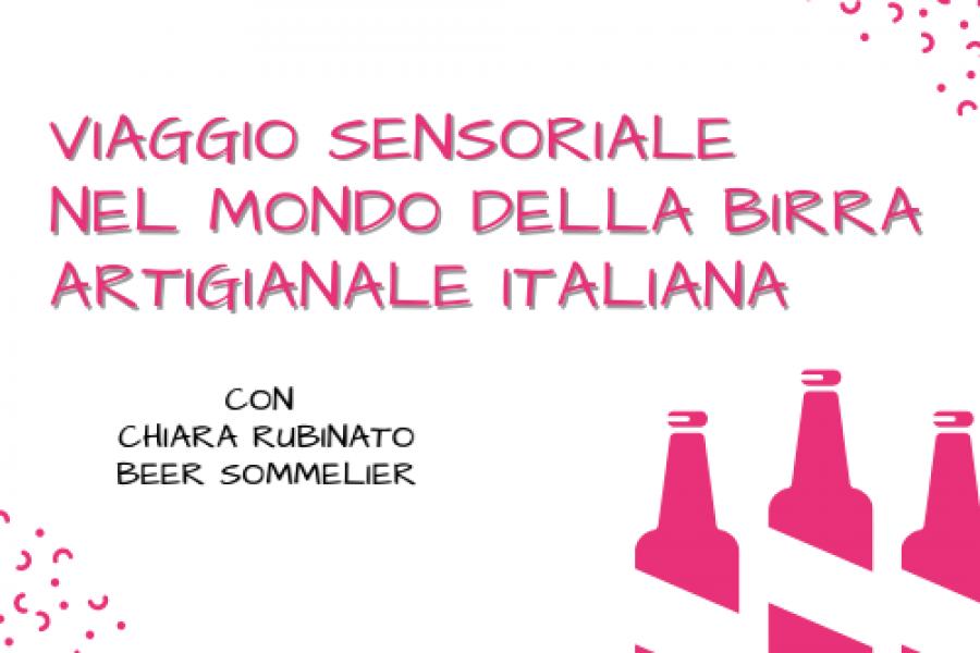 Viaggio sensoriale nel modo della birra artigianale Italiana